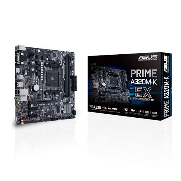 Picture of ASUS PRIME A320M-K AMD A320 AM4