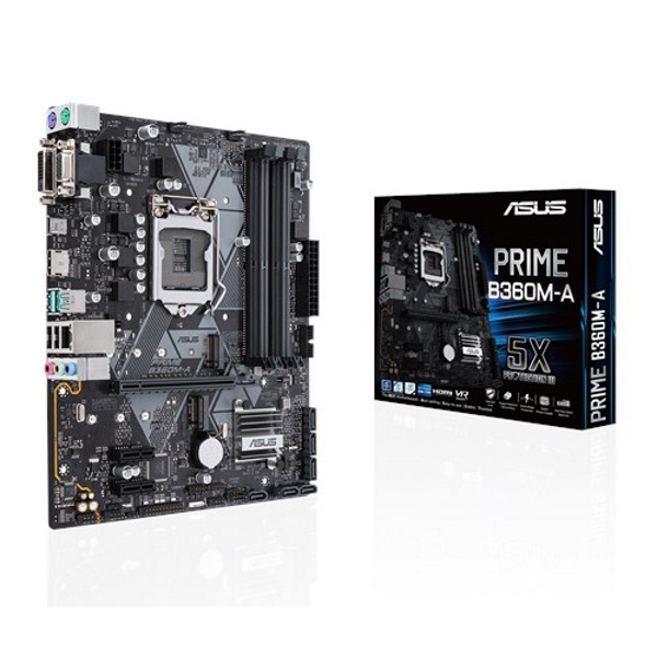Picture of ASUS PRIME B360M-A INTEL B360 S1151