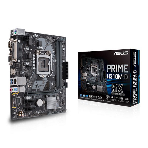 Picture of ASUS PRIME H310M-D INTEL H310 S1151