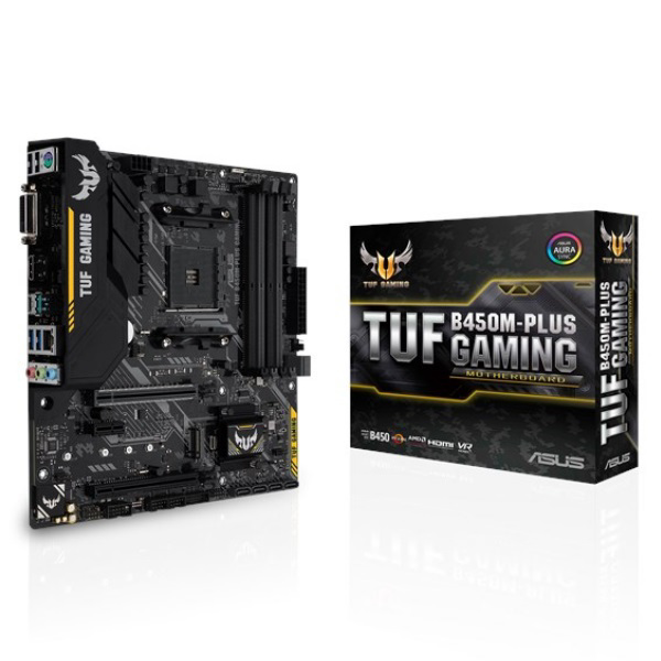 Picture of ASUS TUF B450M-PLUS G AMD B450 AM4