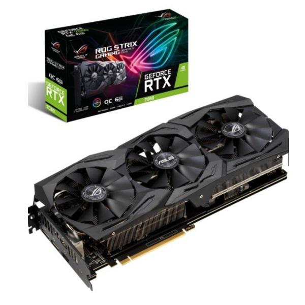 Picture of ASUS RTX2060 STRIX OC 6GB D6 192B