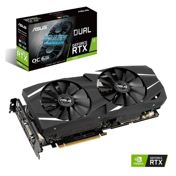 Picture of ASUS RTX2060 DUAL OC 6GB D6 192B