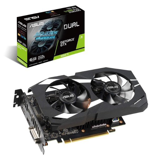 Picture of ASUS GTX1660-TI DUAL 6GB D6 192B