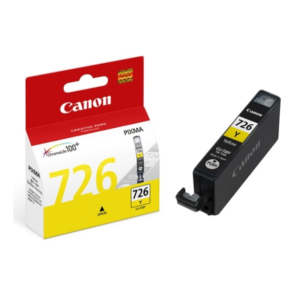 Picture of CANON CLI-726Y YELLOW INK CARTRIDGE