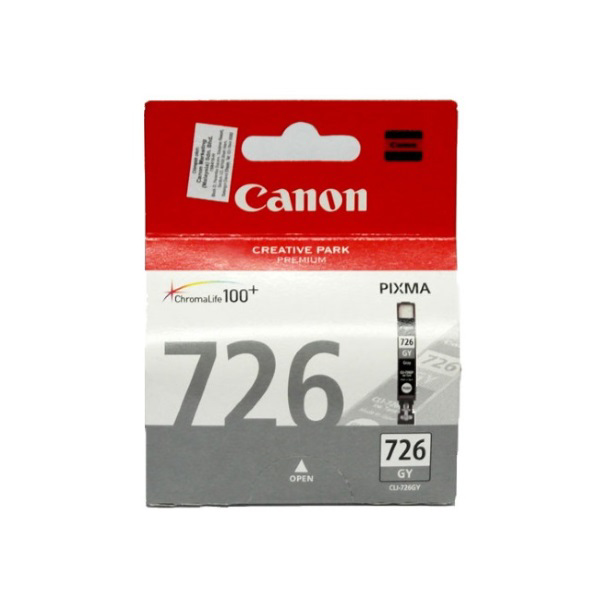 Picture of CANON CLI-726GY GREY INK CARTRIDGE