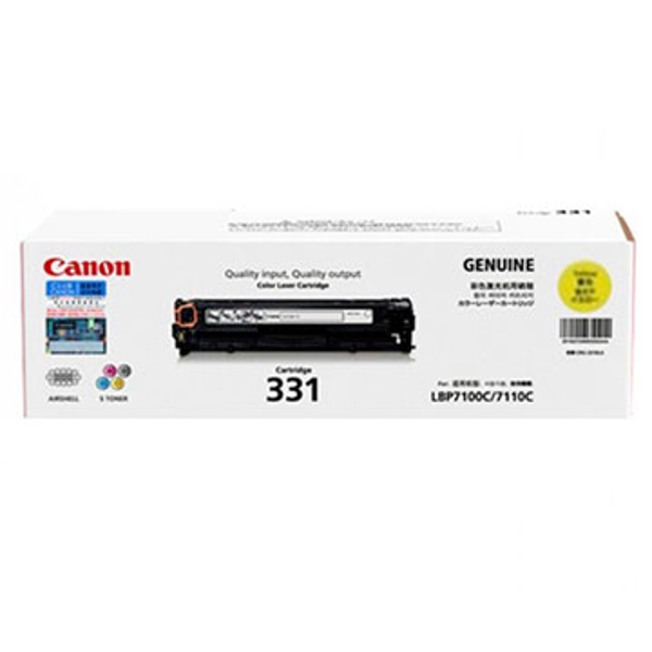 Picture of CANON 331 YELLOW TONER