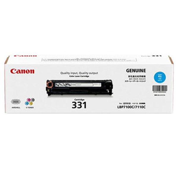Picture of CANON 331 CYAN TONER