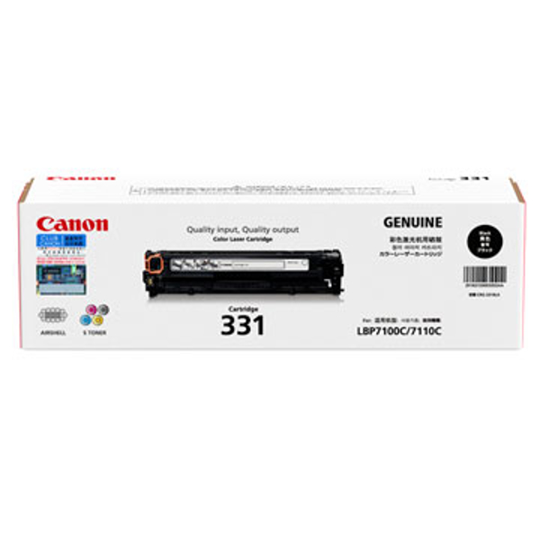 Picture of CANON 331 BLACK TONER