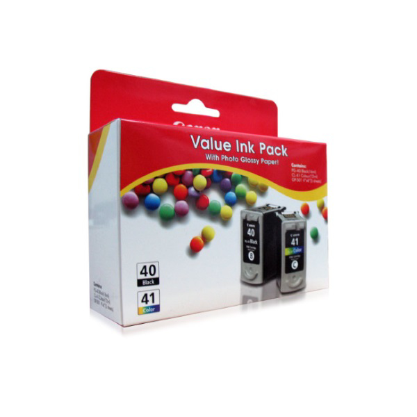 Picture of CANON PG-40+CL-41 VALUE INK PACK