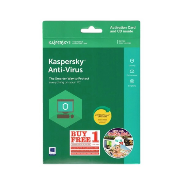 Picture of KASPERSKY ANTI VIRUS 2018-1 USER