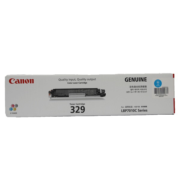 Picture of CANON 329 CYAN TONER
