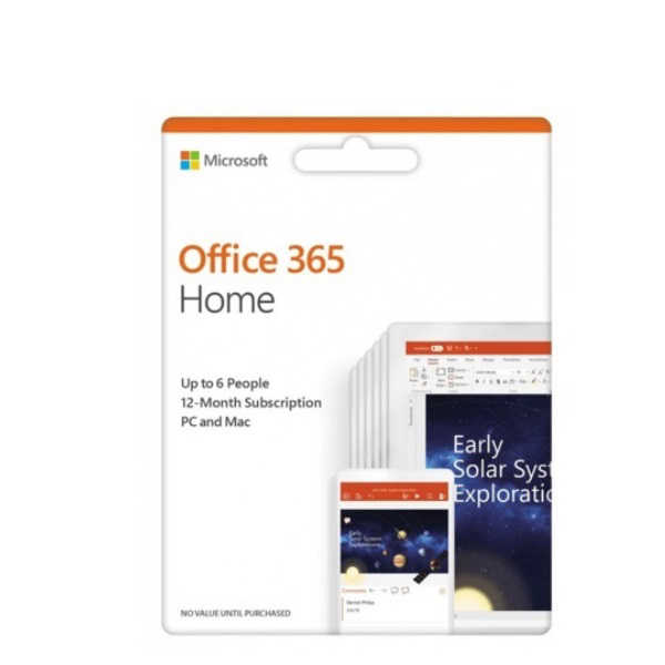 Picture of MICROSOFT OFFICE 365 HOME ESD (ELECTRONIC SOFTWARE) 6GQ-00083