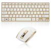 Picture of HK-3910 MINI WIRELESS KEYBOARD MOUSE-GLD