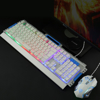 Picture of K33 METALLIC WIRED KEYBOARD MOUSE-B/SIL