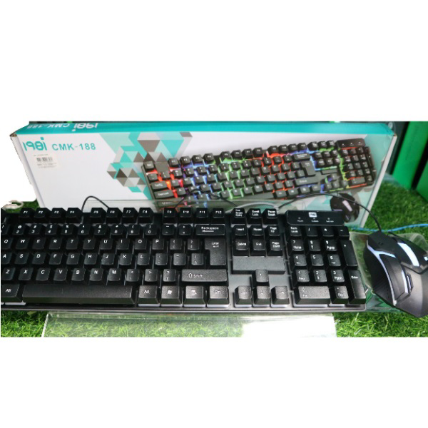 Picture of CMK-188 GAMING KEYBOARD MOUSE