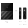 Picture of WD MY PASSPORT 1TB USB3.0 POR HDD-BLK