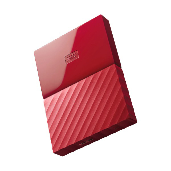 Picture of WD MY PASSPORT 1TB USB3.0 POR HDD-RED
