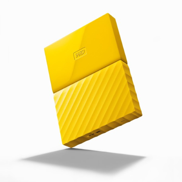 Picture of WD MY PASSPORT 1TB USB3.0 POR HDD-YEL