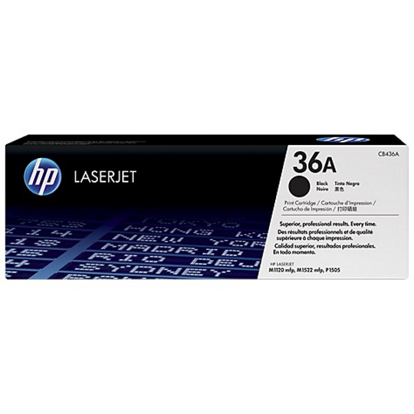 Picture of HP CB436A BLACK TONER