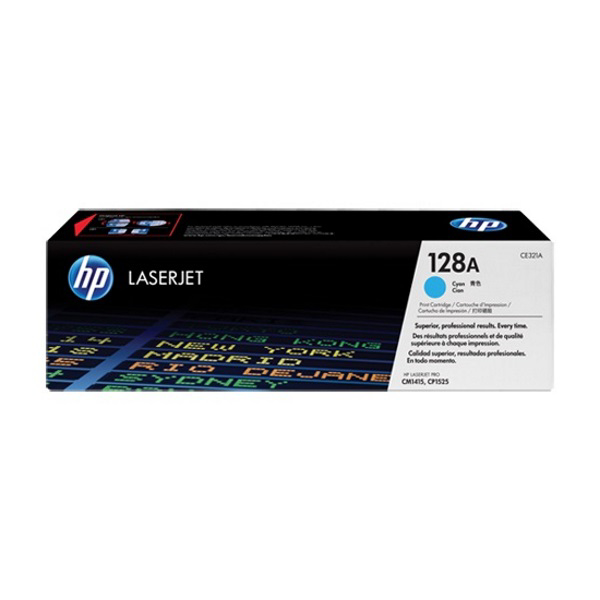 Picture of HP CE321A CYAN TONER
