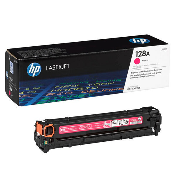 Picture of HP CE323A MAGENTA TONER